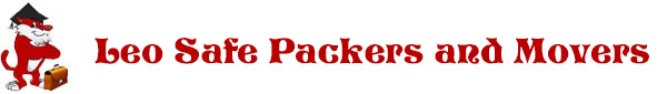 leo packers and movers logo